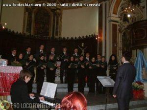 Concerto di Natale del Coro di Castelliri