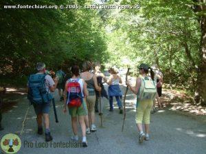 Passeggiata Naturalistica del 31 Luglio 2005