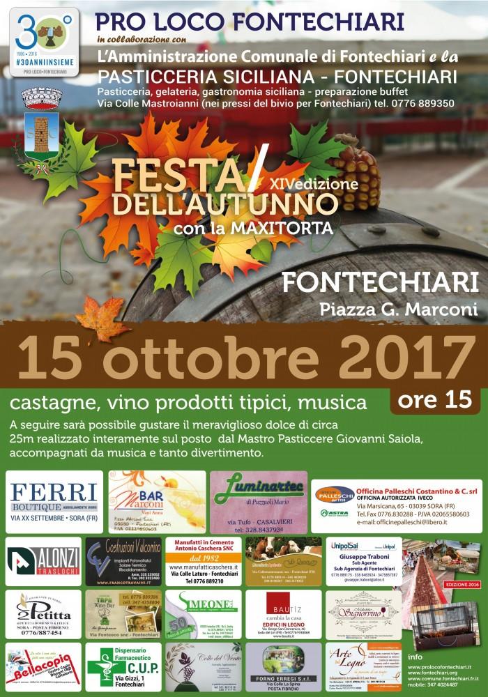 Festa dell'autunno 2017