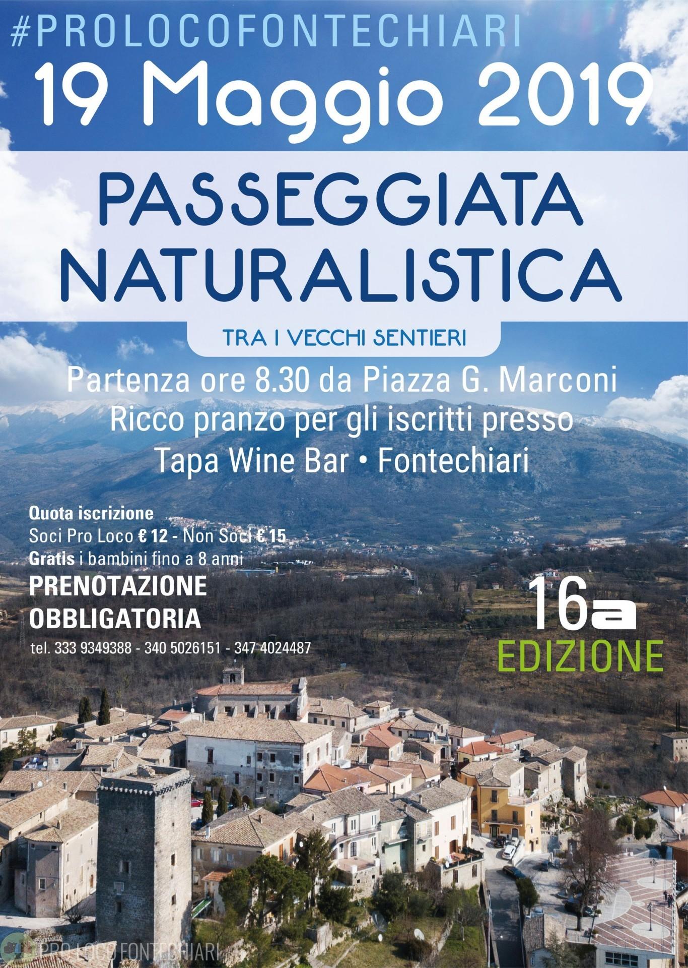 Passeggiata naturalistica del 19 Maggio 2019