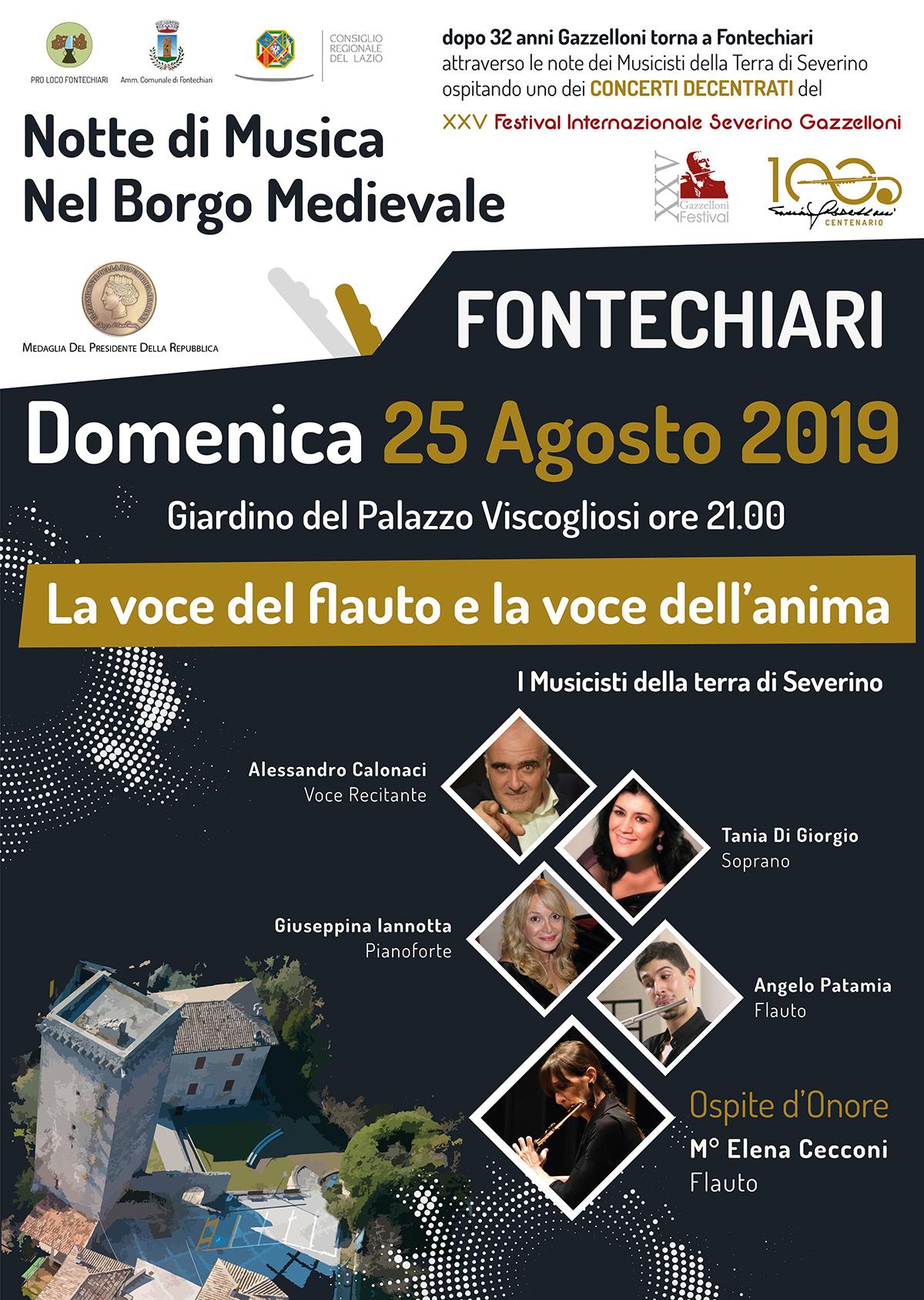 Notte di Musica nel Borgo Medievale – XXV Festival Severino Gazzelloni