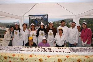 FESTA DELL'AUTUNNO CON LA MAXI TORTA