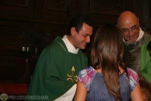 Ciao Don Alberto, benvenuto Don Alessandro