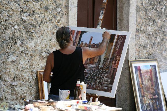 Premio Schiavi, Estemporanea di Pittura e Festa San rocco